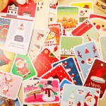 Set Tarjetas Merry Christmas!