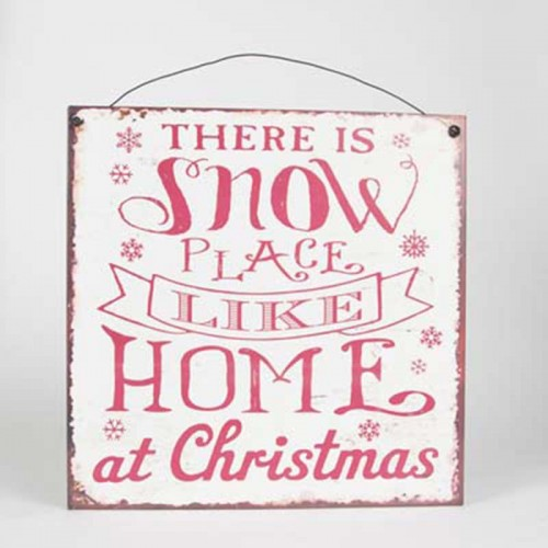 Placa There Is Snow